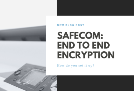 SafeCom End to End Encryption