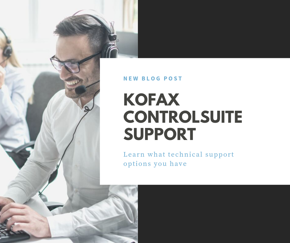 kofax controlsuite support